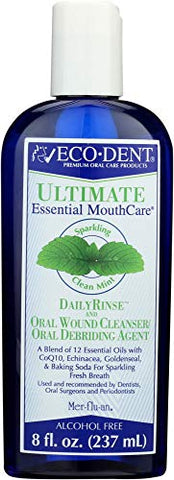 Eco Dent (NOT A CASE) Mouthwash Daily Rinse Mint