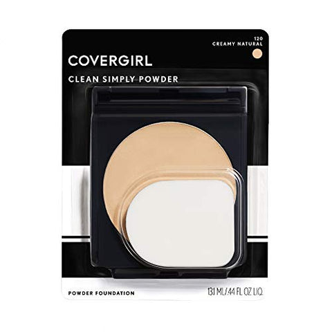 CoverGirl Simply Powder Foundation, Creamy Natural [520] 0.41 oz