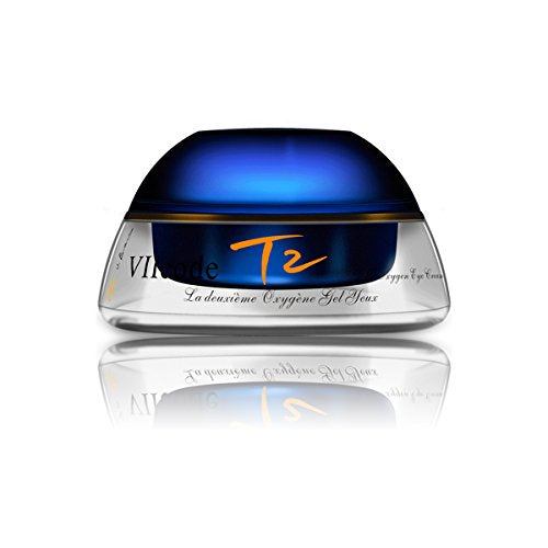 VIIcode T2O3.0 Oxygen Eye Cream For Dark Circles Puffiness Wrinkles Fine Lines Firmness Bags Crow's Feet 5 ml