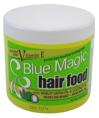 Blue Magic Hair Food 12 Ounce Jar (354ml) (2 Pack)