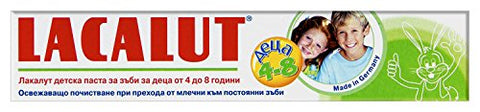 Lacalut Kids 50ml/1.7oz Madical Grade Toothpaste (4-8)