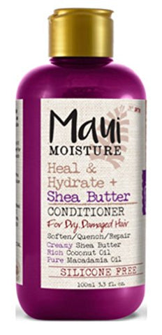 Maui Moisture Conditioner Shea Butter 3.3 Ounce (12 Pieces) Hydrate (100ml)
