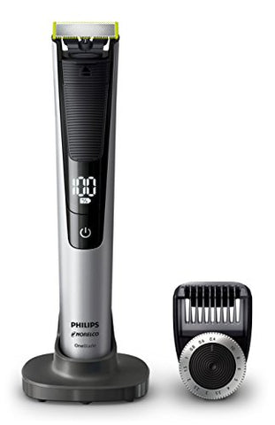 Philips Norelco One Blade Pro, Hybrid Electric Trimmer And Shaver With Charging Stand And Precision C