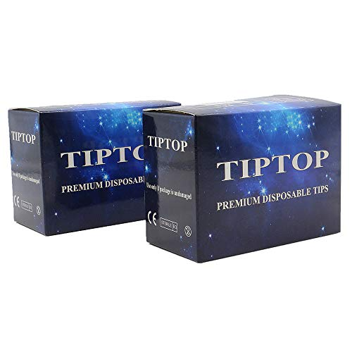 Disposable Tattoo Tips - BoChang 100PCS Disposable Tattoo Tips Assorted for 3RL 5RL 7RL 9RL 3RS 5RS 7RS 9RS 5M1 7M1 Tattoo Needles Round Flat/Magnum Sterileze Plastic Tattoo Tips for Tattooing