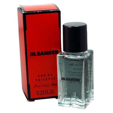 Jil Sander Feeling Man 0.23oz EDT Splash Mini