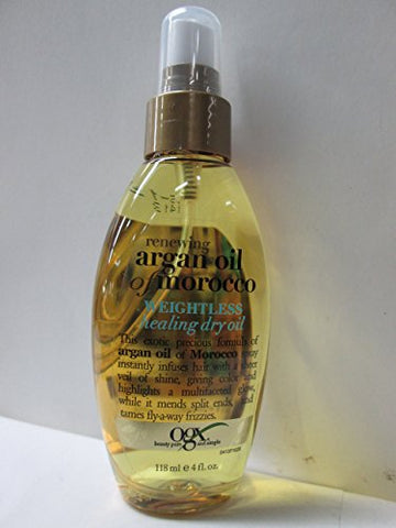 Ogx Moroccan Argan Oil Weightless Dry Oil 4oz (6 Pack)