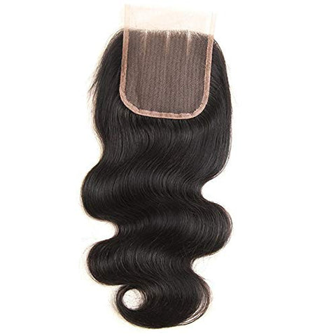 Hairpieces Fashian Brazilian Hair Bundle Body Wave Bundles 100% Virgin Unprocessed Human Hair Weave Hair Extension Natural Color for Daily Use and Party (Color : Black, Size : 16 inch)