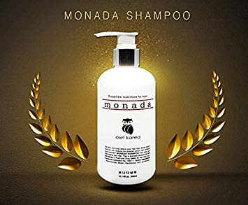 OwlKorea Monada Hair Loss Prevention Shampoo Therapy for Hair Growth, Thinning Hair and Scalp Health (10.14 fl. oz.)