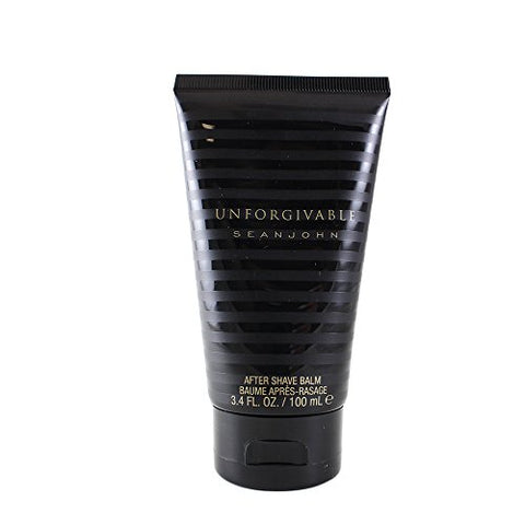 Sean John Unforgivable Aftershave Balm Tube for Men, 3.4 Ounce