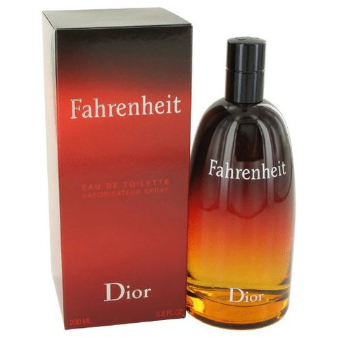 FAHRENHEIT by Christian Dior Men's Eau De Toilette Spray 6.8 oz - 100% Authentic
