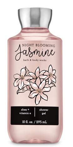 Bath and Body Works NIGHT BLOOMING JASMINE - Gift Set Body Lotion - Fragrance Mist and Shower Gel - Full Size
