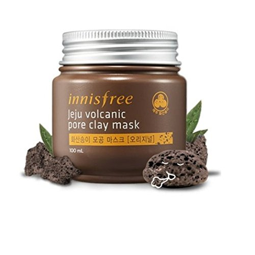 Innisfree 3 PCS Jeju Volcanic Pore Clay Mask, IFP04-Moriginal