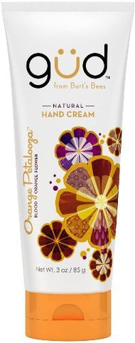 Gud Natural Orange Petalooza Hand Cream, 3 fz (Pack of 3)