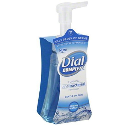 Dial 05400 7.5 Oz Spring Water Anti-Bacterial Foaming Hand Soap