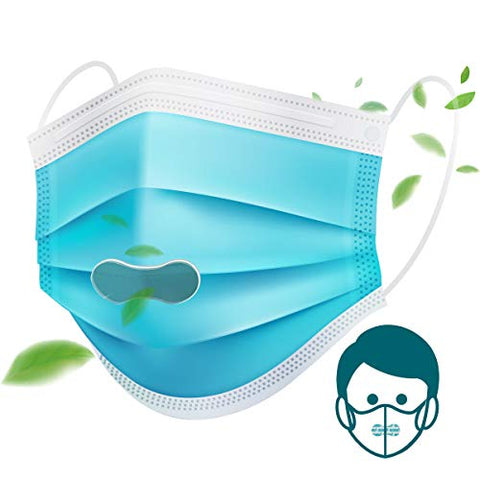 Aroma Mask Patch - Fresh And Cool Air in a Stuffy Mask - Refreshing Stuffy Nose - Contains Natural Aroma Oil(10 Patches, Made in Korea)