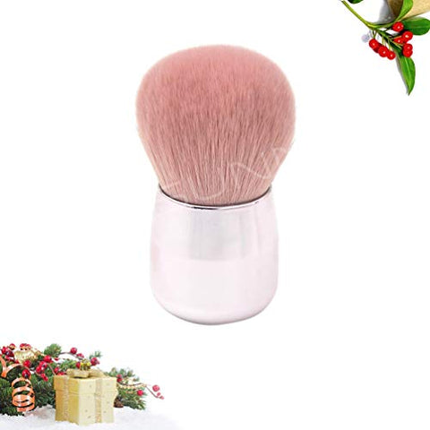 Lurrose Round Cosmetic Brushes Makeup Brushes Mushroom Shape Loose Powder Foundation Brush Makeup Tools