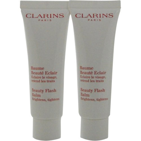 Clarins by Clarins: BEAUTY FLASH BALM DUO PACK --2X/1.7OZ