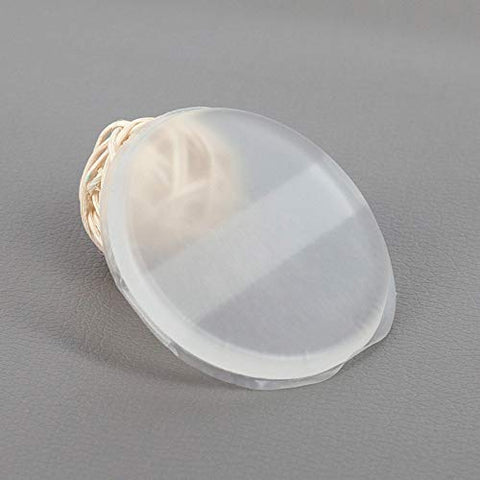 3d transparent transparent pure silica powder puff New jelly round ribbon PU air cushion puff