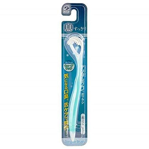 #MC DENTALPRO Tongue Brush 1`pc-Wave-Shape Neck Designed for Easy Insertion and Smooth Movement Over The Tongue,Super Soft Brush Gently Cleanse Away