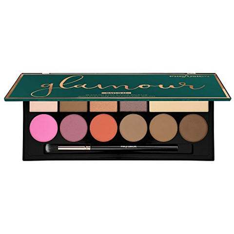 PROFUSION Glamour 16 Color Face & Eyes Palette - Natural
