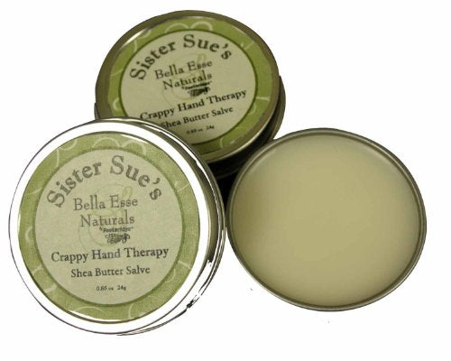 Sister Sue's Crappy Hand Therapy Solid Hand Lotion by Bella Esse Naturals