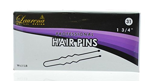 "Black Hair Pin 1.75"" 1 Pound 31"