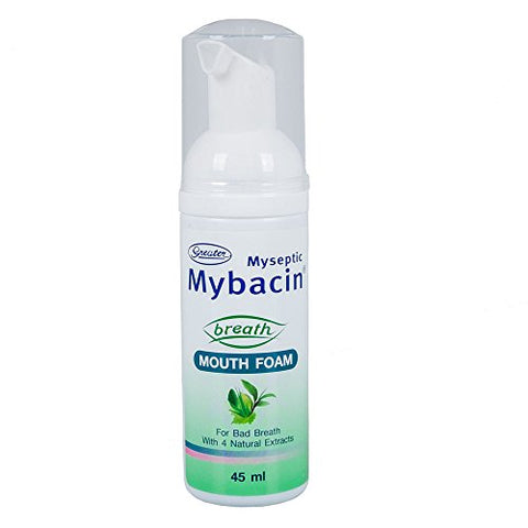 Mybacin Breath Mouth Foam 45 ml