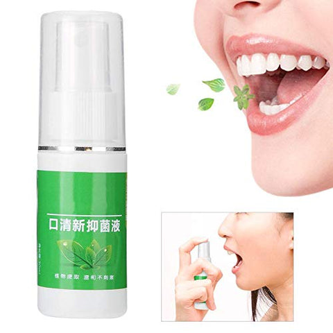 Mouth Spray 30g Breath Freshener Spray Odor Halitosis Spray Refresher Care Spray