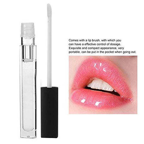 MELAO Natural Lip Plumper, Maximizer Lip Extreme Enhancer Moisturizing Lip Gloss Lips?Care Makeup Tool 5ml
