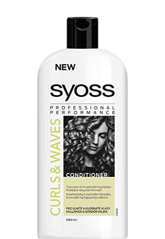 Syoss Curls & Waves Conditioner 500 ml / 16.7 fl oz