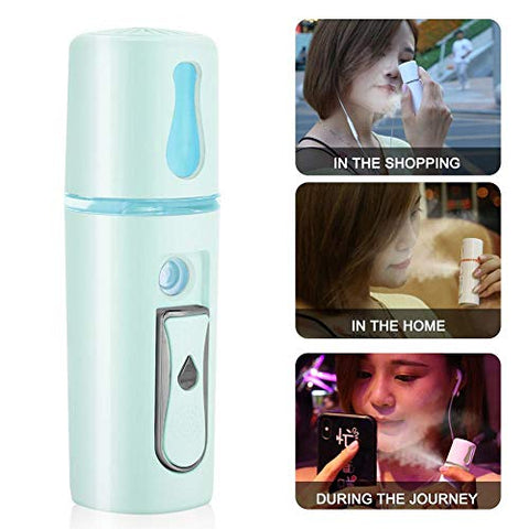 Face Nano Mist Spray, Beauty Salon Home Handhold Atomization Sprayer 20ml Promote Facial Moisturizing Female Beauty Care Tool(#2)