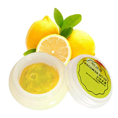 DAGEDA Professional False Eyelashes Remover Cream Lemon Flavor, Quickly and Gently Dissolve Eyelash Glue Without Irritation, Can Quickly Clean Eyelashes