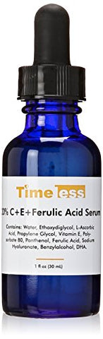 Timeless Skin Care 20% Vitamin C Plus E Ferulic Acid Serum, 1 Fl Oz (Pack Of 1)