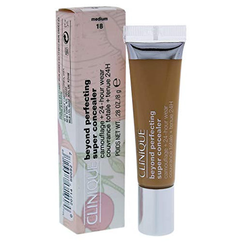 Clinique Beyond Perfecting Super Concealer Camouflage Pus 24-hour Wear - 18 Medium By Clinique for Women - 0, 0.28 Ounce