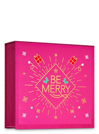 Bath and Body Works A THOUSAND WISHES Gift Box Set - Body Lotion, Fine Fragrance Mist & Shower Gel arranged in an easel-style gift box with a ribbon. Full Size