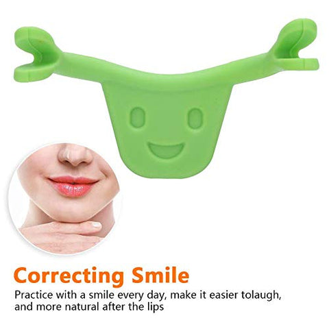Face Trainer,Smiling Maker 2 Colors Personal Smile Beauty Exerciser Training Brace Smiling Maker Beauty Care Mouth-shape(2#)