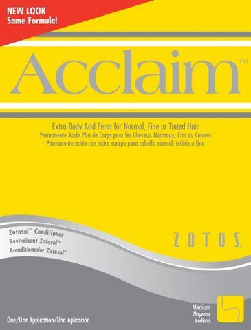 Zotos Acclaim Extra Body Acid Perm for Normal,fine or Tinted Hair by Zotos
