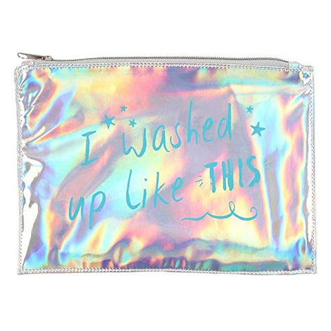 Something Different I Washed Up Like This Makeup Pouch (One Size) (Multicolor)