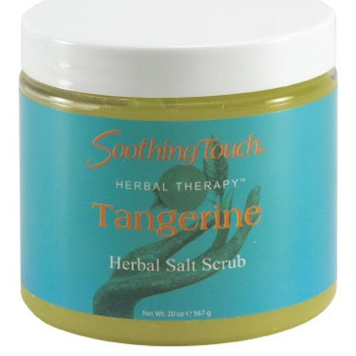 Soothing Touch Salt Scrub Tangerine 20 Oz