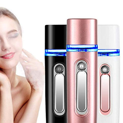 Portable Facial Steamer Nano Face Sauna Hydrating Water Mister Sprayer Skin Care
