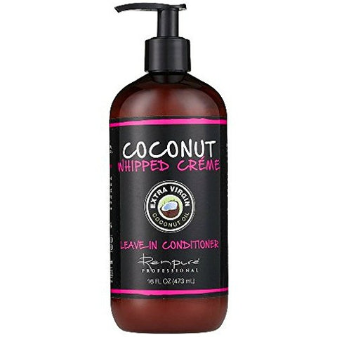 Renpure Coconut Whipped Creme Leave In Conditioner, 16 Ounces