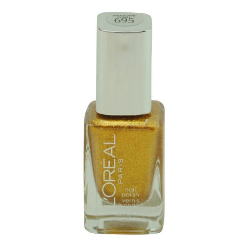 Loreal Project Runway Nail Polish Collection Amazon's Flash GOLD 695