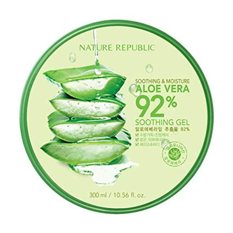 Aloe Vera 92% Soothing Gel 300ml