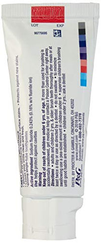 Crest 3 D White Brilliance Toothpaste, Vibrant Peppermint,  4.1 Ounce, Pack Of 2