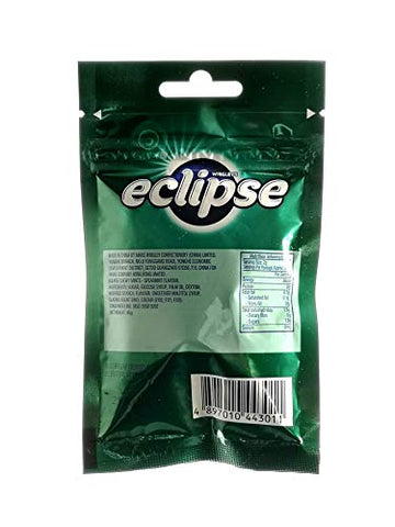 (Pack of 6) Wrigley's Eclipse Chewy Mints Powerful Fresh Breath (Spearmint)