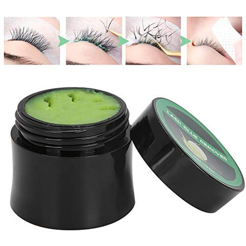 Eyelash Extension Glue Remover Gentle Non?Irritating Quick Removal Cream Eye Makeup Tool 22g Large-Capacity