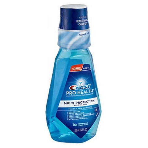 Crest Pro-Health Rinse, Refreshing Clean Mint 16.9 fl oz (500 ml)