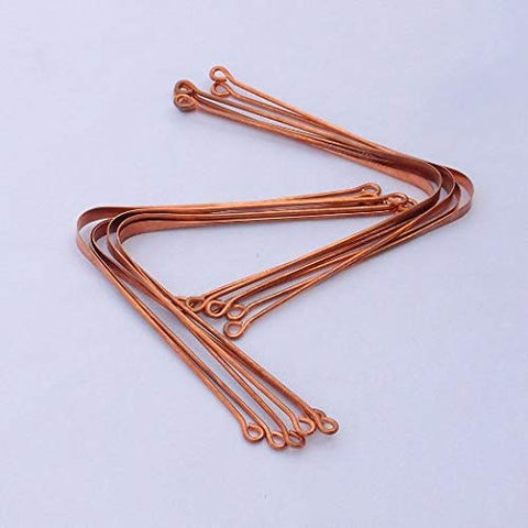 Copper Tongue Cleaner - Set of 12