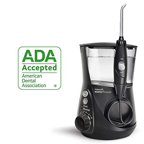 Waterpik Water Flosser Electric Dental Countertop Professional Oral Irrigator For Teeth, Aquarius Wp