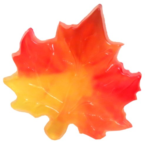 Maple Leaf Soap, Multi-Colored, Cherry Almond